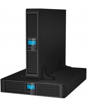 POWERWALKER VFI 1500RT LCD Online 1500VA 1350W rack/stolp UPS brezprekinitveno napajanje