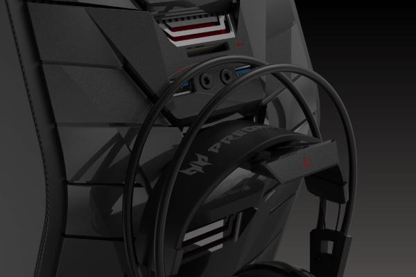 gaming namizni računalnik acer         predator          g6 i7 6700 držalo za   slušalke