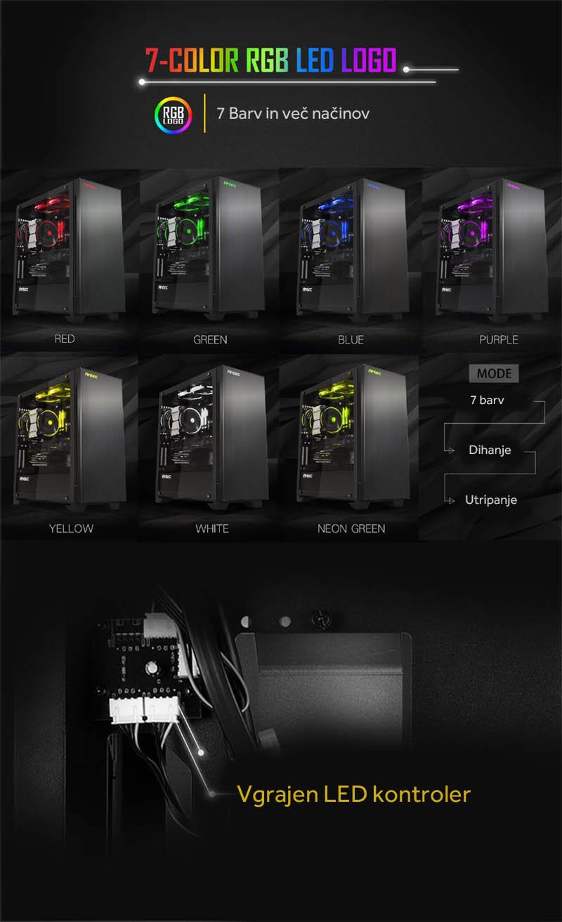 antec P110 Luce RGB kontroler