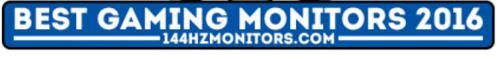 najboljši gaming monitorji 2016