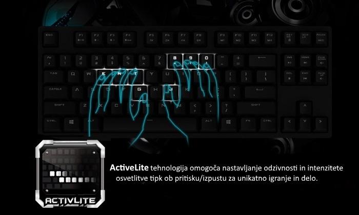 cooler master quickfire rapid activelite osvetlitev