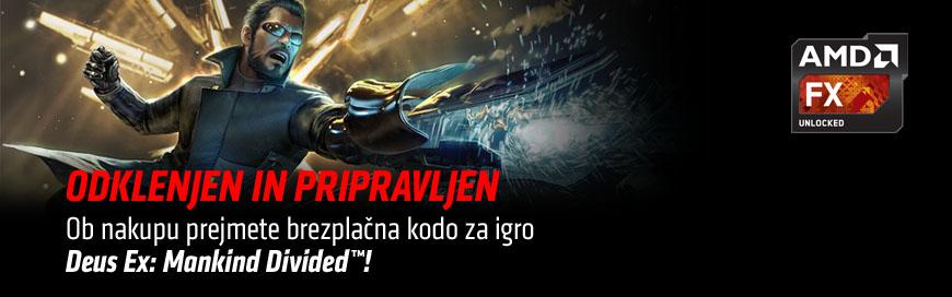 AMD Deus Ex darilo