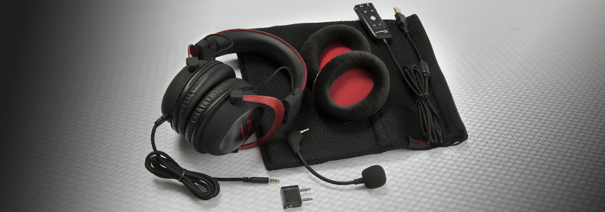 kingston hyperx cloud gaming slušalke bundle