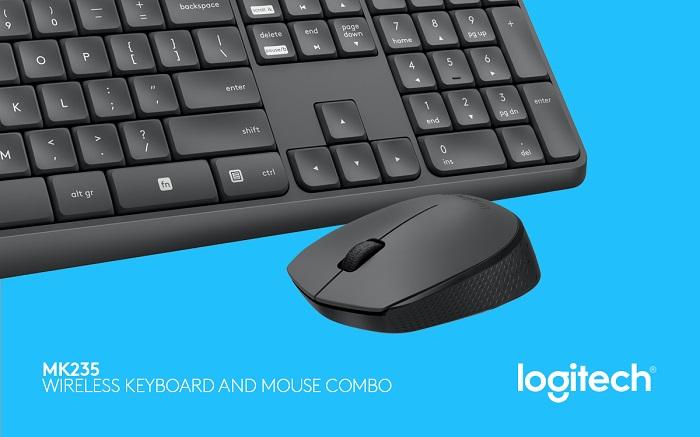 logitech mk235 tipkovnica miš