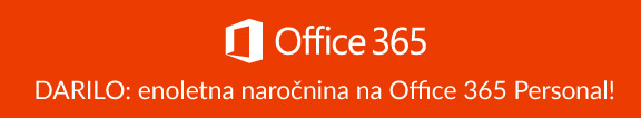 office 365 personal darilo