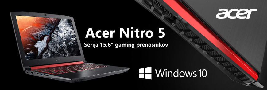 acer nitro 5 gaming prenosnik