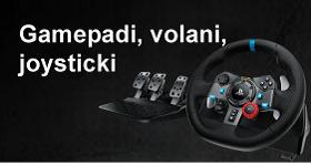 gamepadi volani joysticki